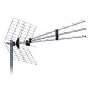 ISKRA DVB-T UHF ext. anténa P-43N Triplex 9,5-15dBi