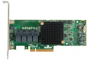 Microsemi Adaptec RAID 71605E Single SAS/SATA 16 portů, x8 PCIe, paměť 256MB