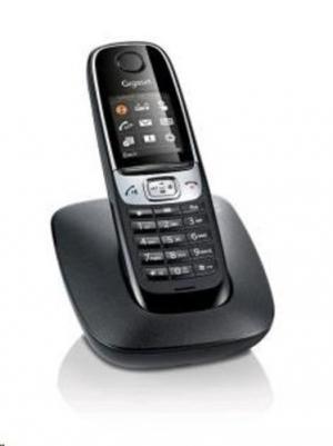 SIEMENS Gigaset C620 bezdrátový telefon, shiny black