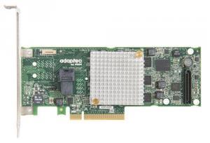 Microsemi Adaptec RAID 8405 Single SAS/SATA 4 porty int., x8 PCIe Gen 3, paměť 1024MB