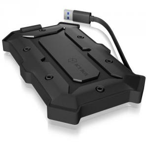 "RAIDSONIC ICY BOX IB-276U3 externí vodotěsný box pro 2.5"" HDD SATA, USB 3.0, IP66, černý"
