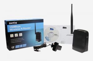 NETIS WF2414 wifi 150Mbps AP/router, 2xLAN, 1xWAN , fixní antena 5dB