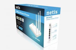 NETIS WF2409E wifi 300Mbps AP/router, 4xLAN, 1xWAN ,3x fixní antena 5dB
