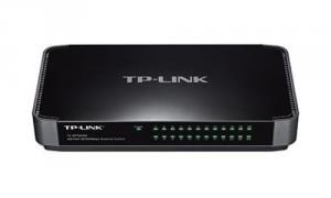 TP-LINK TL-SF1024M 24port 24xTP 10/100Mbps 24port switch desktop plast