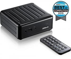 ASROCK BEEBOX J3160/B/BB black černý (intel celeron J3160 Quad-core, bez MEM, bez HDD, 2xHDMI +DPort, 7.1, GLAN, WiFi+BT, USB3.0 typ C, bez OS