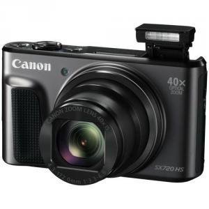 CANON PowerShot SX720 HS digitální fotoaparát černý, black, 20Mpix, 40x optický zoom