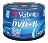VERBATIM 43550 DVD+R 50cake 16x silver media (krabice=4x50pack)