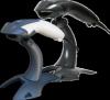 HONEYWELL 1200g Voyager čtečka čárového kódu, USB, bílá, stojan, barcode scanner