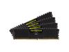 CORSAIR 16GB=4x4GB DDR4 2400MHz VENGEANCE LPX BLACK PC4-19200 CL16-16-16-39 1.2V XMP2.0 (16GB=kit 4ks 4GB s chladičem